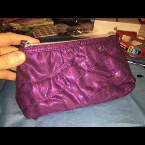 Victoria's Secret's Fuchsia Glitter Wristlet